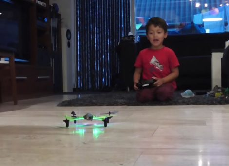 Lorenzo + Quadcopter
