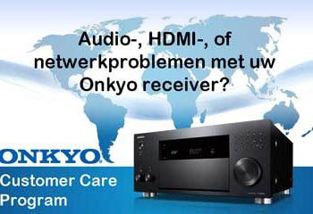 Onkyo Customer Care Program