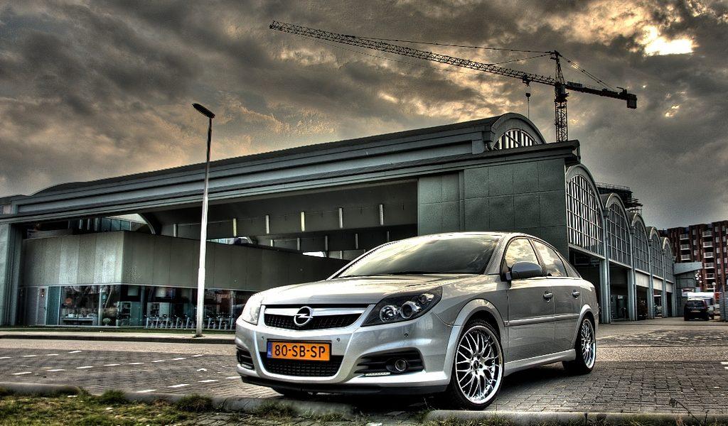 Opel Vectra – Foto's